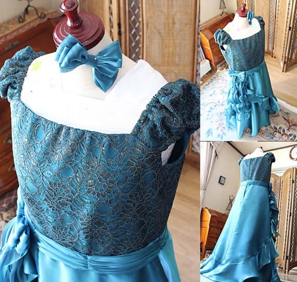 演奏者が着るオーダーメイドドレス製作