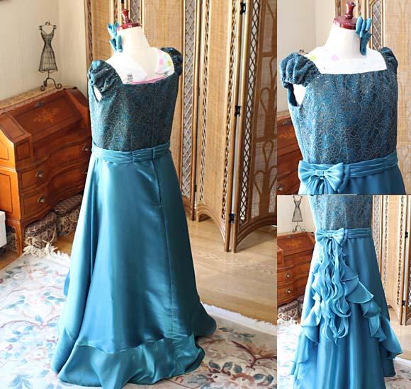 ドレスのデザインと詳細