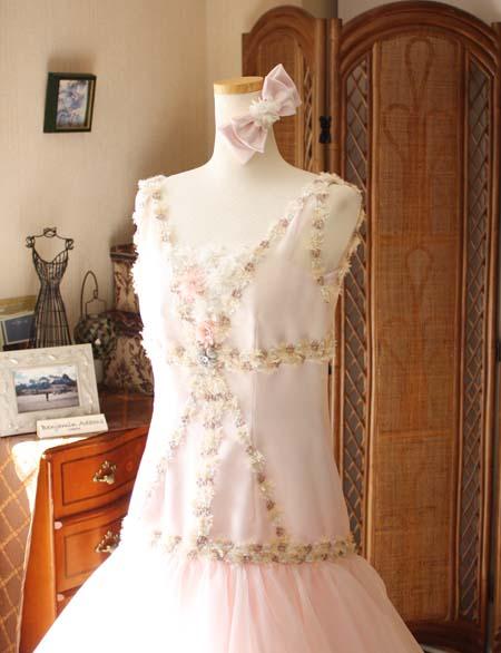 モード系ドレスデザイン 演奏者用ドレス