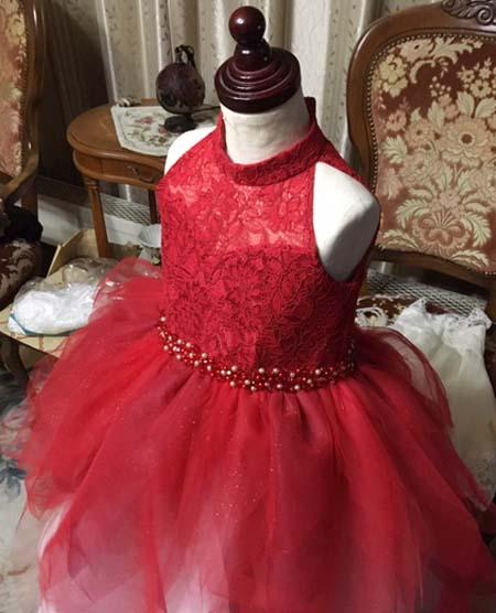 ウェストビーディング ドレス制作