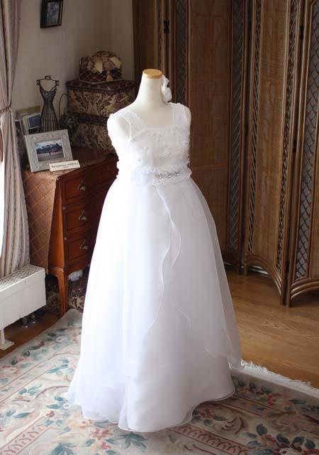 中学生向けのロングドレス