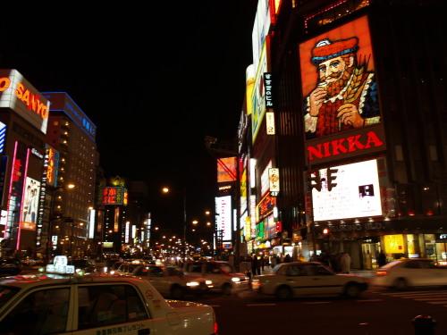 演歌の似合う街・札幌すすきの
