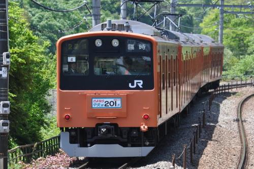 さよなら中央線201系(HH4編成)