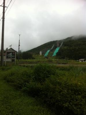 白馬ジャンプ台