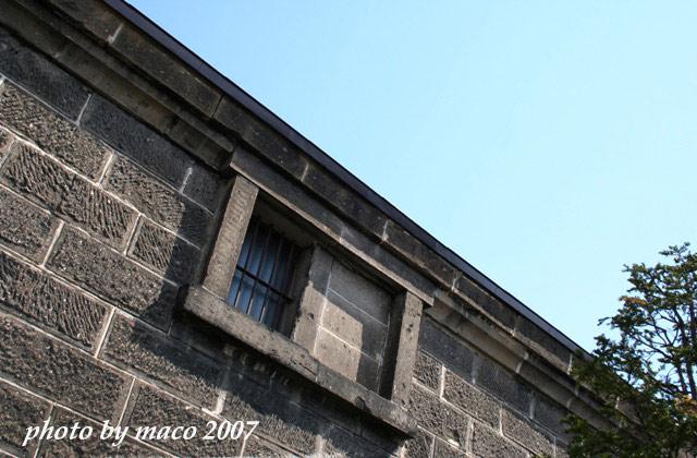 小樽倉庫の窓