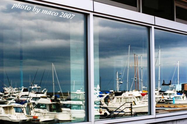 マリーナの窓