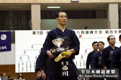 剣道八段戦 第1回優勝者 西川清紀