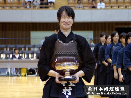 第49回女子選手権_前年度優勝村山選手