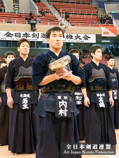第57回全日本剣道選手権大会優勝内村選手