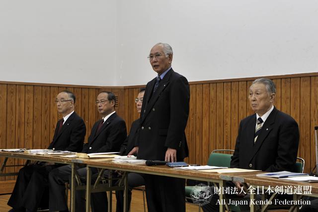 第3回全日本都道府県対抗女子剣道優勝大会審判会議_001