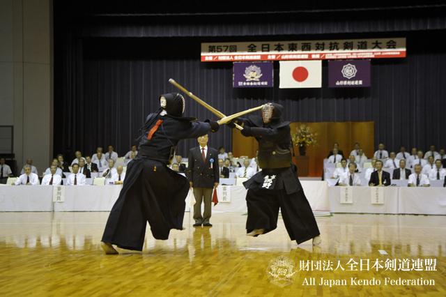 第57回全日本東西対抗剣道大会_大将戦