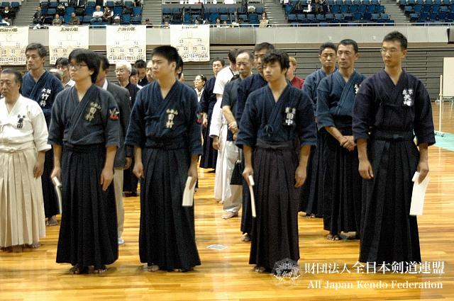 第38回全日本杖道大会 初段 優秀賞