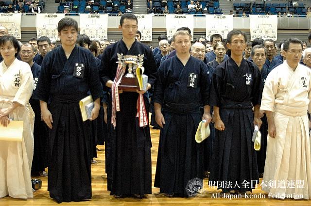 第38回全日本杖道大会 四段 1位・2位