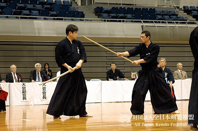第38回全日本杖道大会 四段 決勝