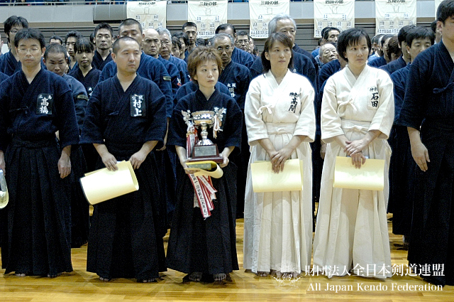 第38回全日本杖道大会 五段 1位・2位