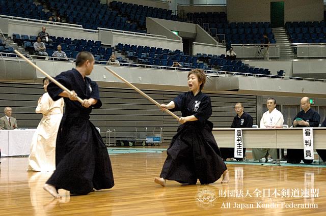 第38回全日本杖道大会 五段 決勝