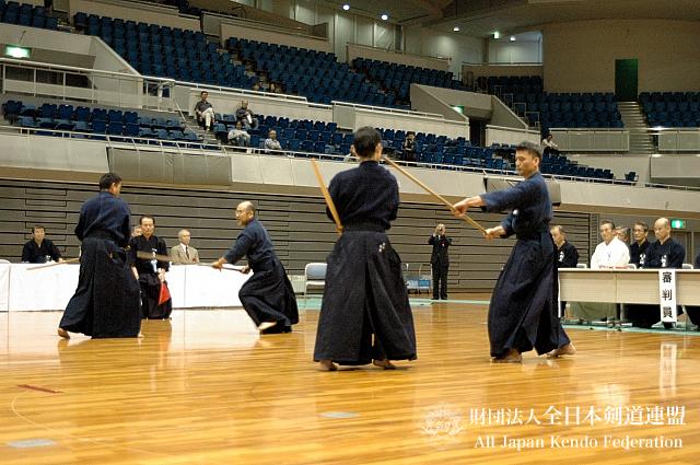 第38回全日本杖道大会 六段 決勝