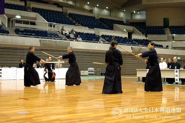 第38回全日本杖道大会 七段 決勝