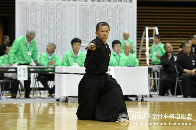 第46回全日本居合道大会 七段優勝 菊池選手