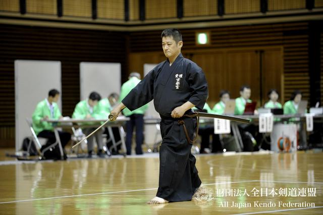 第46回全日本居合道大会 六段優勝 宇都宮選手