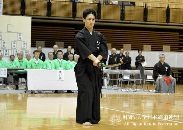 第46回全日本居合道大会 五段優勝 乘松選手