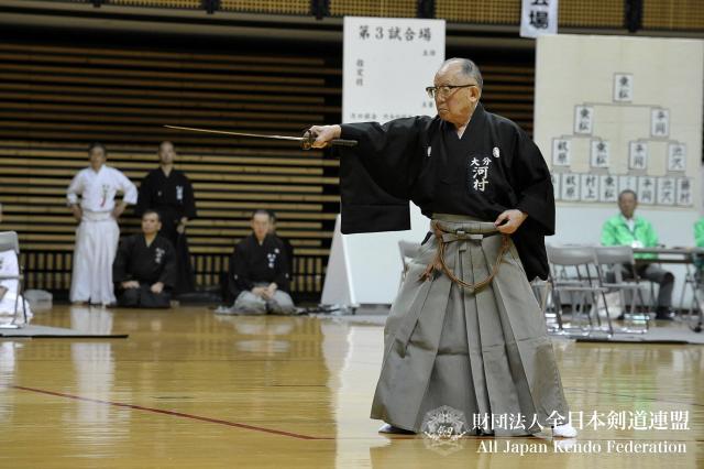 第46回全日本居合道大会 個人演武 河村範士