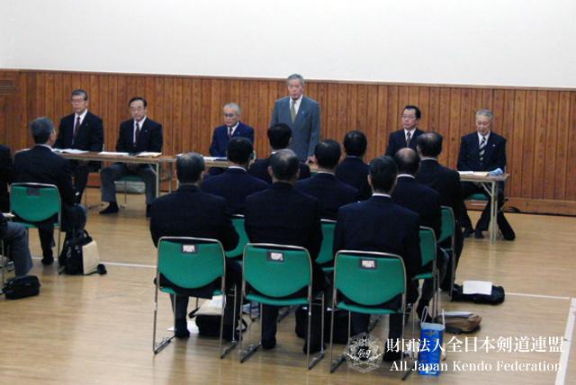 第59回全日本剣道選手権大会審判会議_001