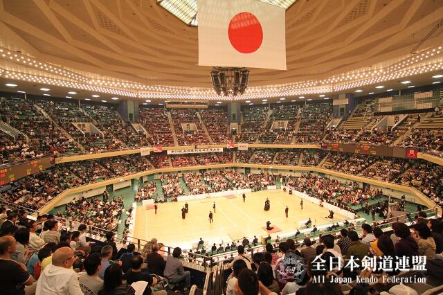 第59回全日本剣道選手権大会会場風景