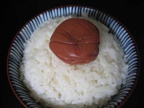 輝かんばかりの白米。