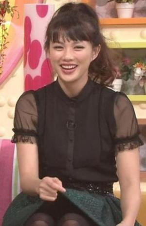 笑顔がまぶしい臼田あさ美