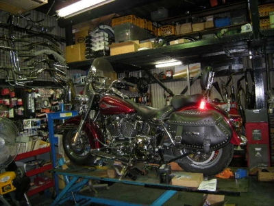 105cycleservice dyna chopper softail