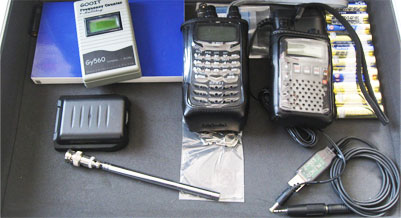 盗聴器、受信機一式