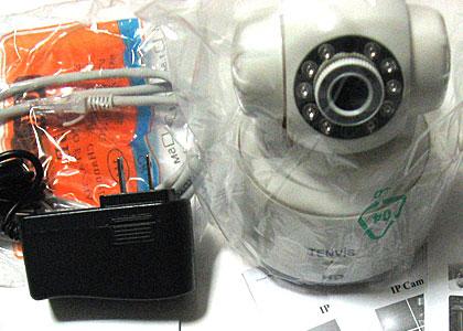 安価なネットワークカメラ