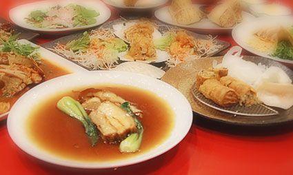 京都市内右京区嵯峨嵐山向日市内で女子会おすすめテレビ雑誌で人気の中華料理店創作料理フルコース料理