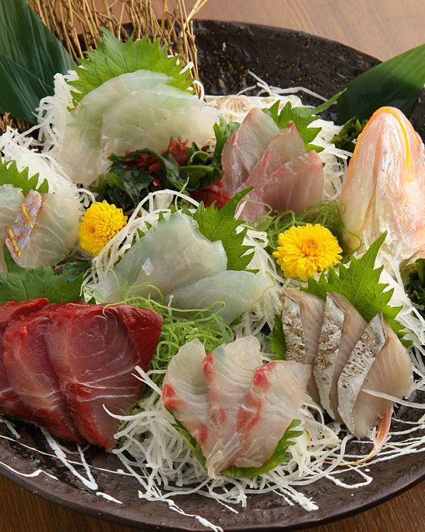 湯島上野近辺魚之屋新年会誕生日会個室海鮮コース料理しゃぶしゃぶ鍋5,000円以下飲み放題付き