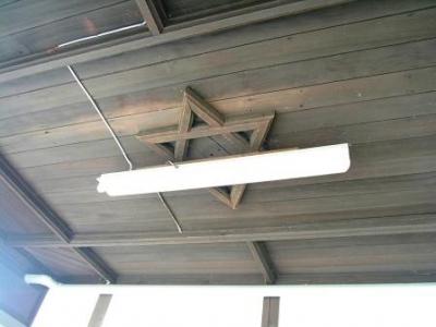 JR南久留米正面玄関の天井