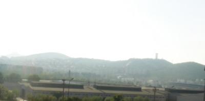飛行場近くの風景