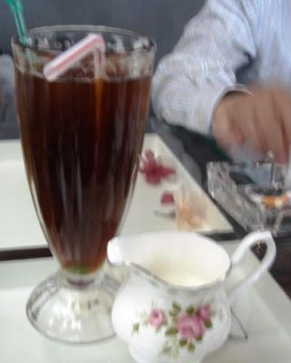 イタリア風アメリカンアイスコーヒー