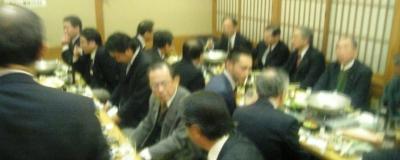 ゴム・製造部会の忘年会2008