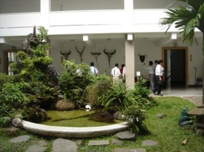 南ベトナム大統領官邸家族ルーム