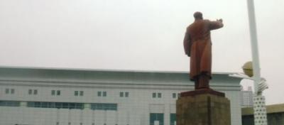 丹東 毛沢東