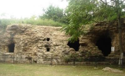東鶏冠山の要塞3