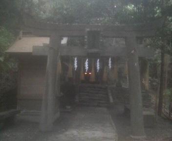 高良山奥の院