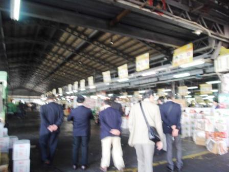 台湾の青果市場