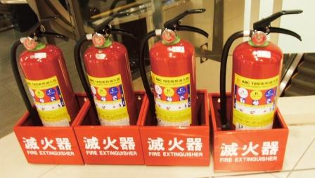 ABC消火器:消火薬剤肥料に最適