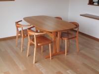 オリジナル楕円テーブル