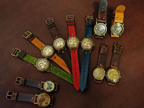 鳥取県 手作り腕時計 カシェ&ヴィーマヴィー