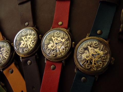 スケルトン 時計