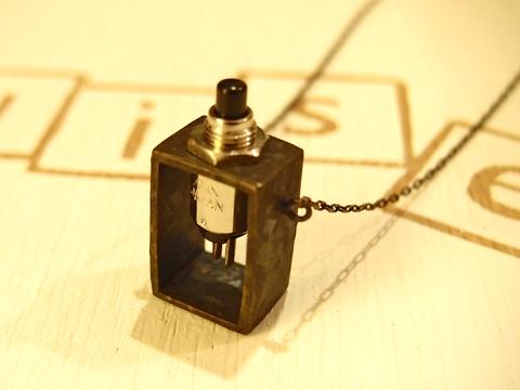 DaQuise ダクィーズ スイッチネックレス 真鍮燻し