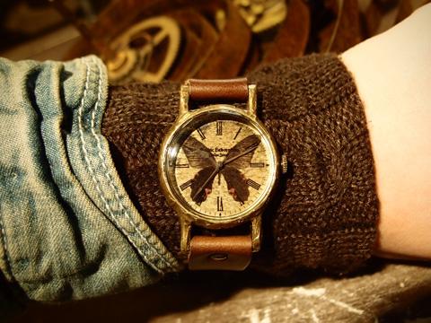 クロアゲハの腕時計 Classic Wristwatch Papilio protenor M ¥17,666
